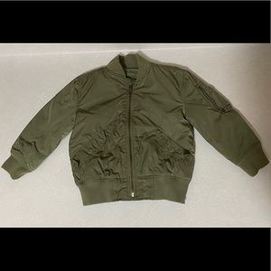 Boys Green Utility Jacket